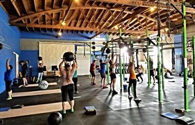 CrossFit Class in Tucson